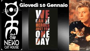 We Can Be Heroes: Il Neko ricorda David Bowie