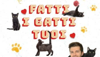 Saturday 15 February at 17, Federico Santaiti, the web catman, presents his book: Fatti i gatti tuoi